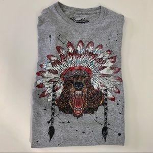 Brooklyn Cloth Native American Bear T-shirt